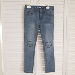 Cat Stitched Jean's by Cat & Jack